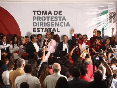 Lorenzo Rivera y Xiltlalic Ceja nuevos dirigentes del PRI en Puebla