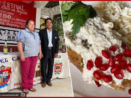 Chiles en Nogada, un tesoro culinario resguardado en El Castillo de Alicia