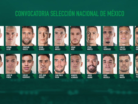 Presenta Martino la primera lista de convocados para la Selección Mexicana