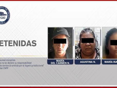 FGE detuvo a tres mujeres y aseguró especies protegidas en mercado La Acocota