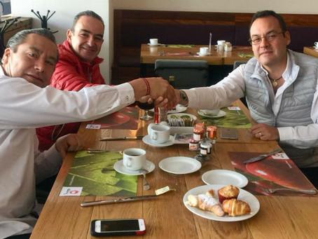 Pactan Leobardo Soto y Deloya trabajar unidos para la elección