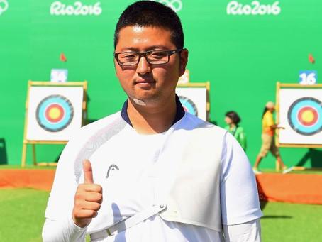 Coreano quiebra primer récord mundial de tiro con arco en Río 2016
