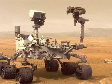 Robot Curiosity de la NASA se dirige a nuevo destino en Marte