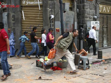 Capturan a líder de ambulantes por enfrentamiento del 22 de julio