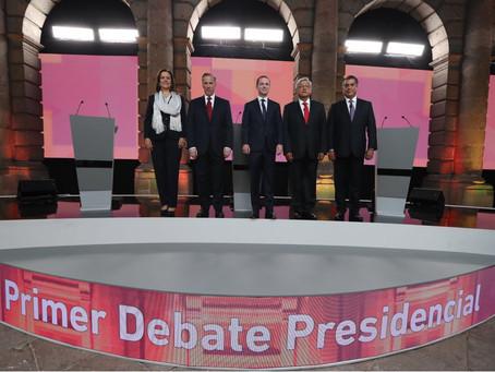 Ataques dominan el primer #DebateINE entre presidenciables