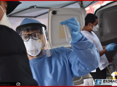 Reporta Salud 397 nuevos contagios y 41 defunciones en las últimas 96 horas