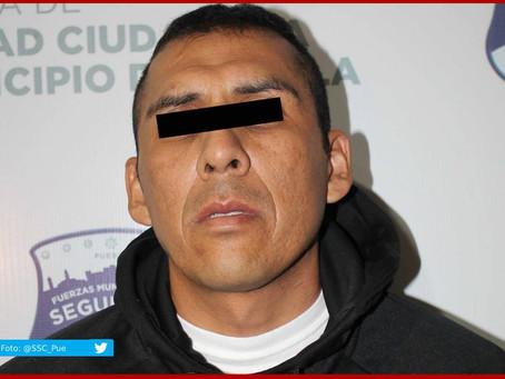 Cae en Puebla presunto miembro de La Unión Tepito