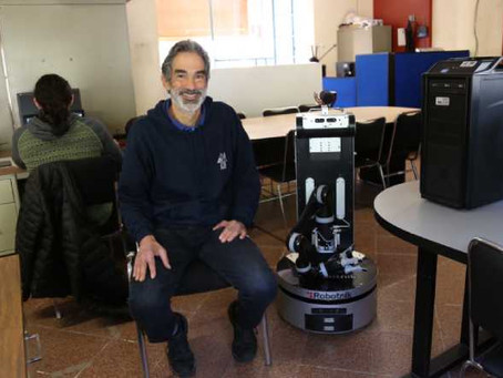 Un robot aprende en Internet y localiza objetos en casa