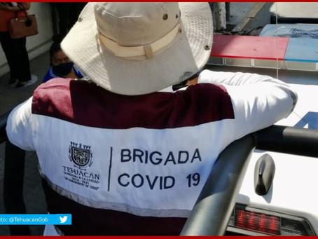 Llegan las segundas dosis contra Covid-19 para Tehuacán