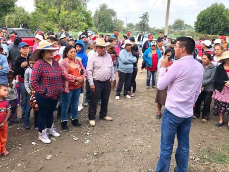 Remodelación de la casa de salud en San Cayetano, compromiso de Alejandro Martínez