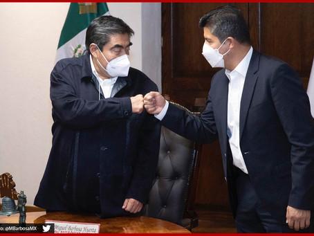 Miguel Barbosa dará el grito con Lalo Rivera en Casa Aguayo