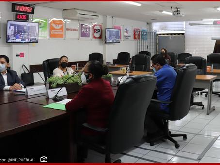 Concluye consejo local del INE Puebla exitoso proceso electoral