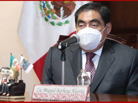Cero deuda contratada en este gobierno, subraya Barbosa Huerta