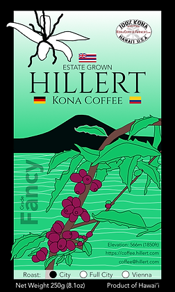Hillert Kona Coffee