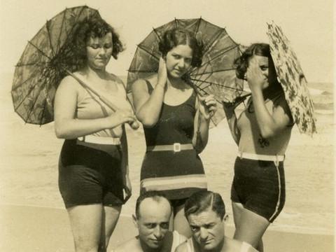 קיץ בחוף תל אביב: משמלה ושמשיה לשוקוולחמניה