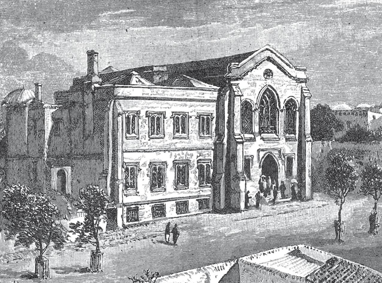 The British Consulate and Church