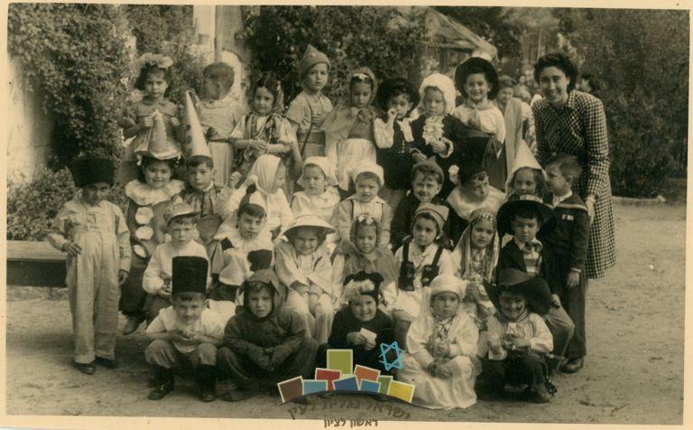 גן עמנואלה ברחוב זדל 1948