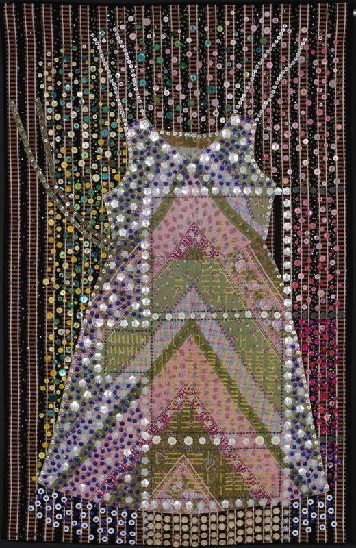 """""""התקווה מתה אחרונה"""", יצירתה של רחלי רוגל משנת 2005. צילום: רן ארדה"""
