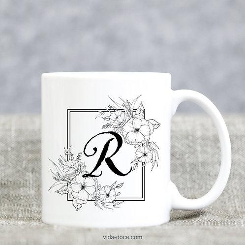 Botanical Monogram Mug