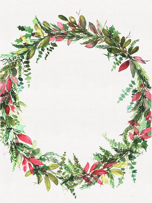 Personalized Large Wreath