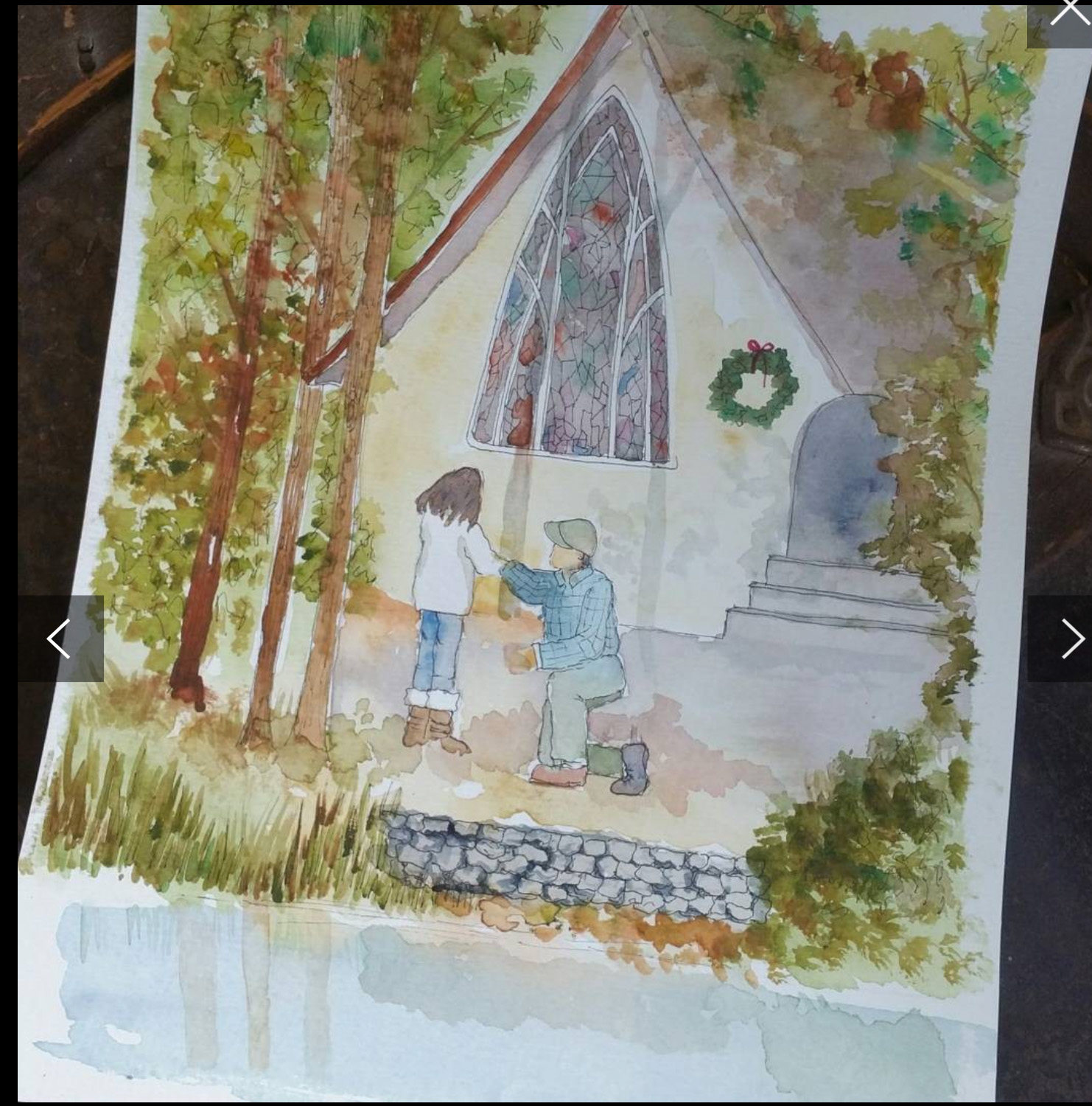watercolor the proposal