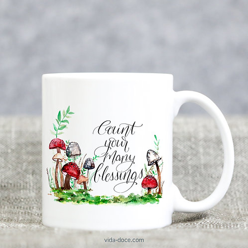Count Your Many Blessings Mug