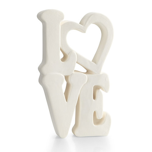 Standing Love Plaque