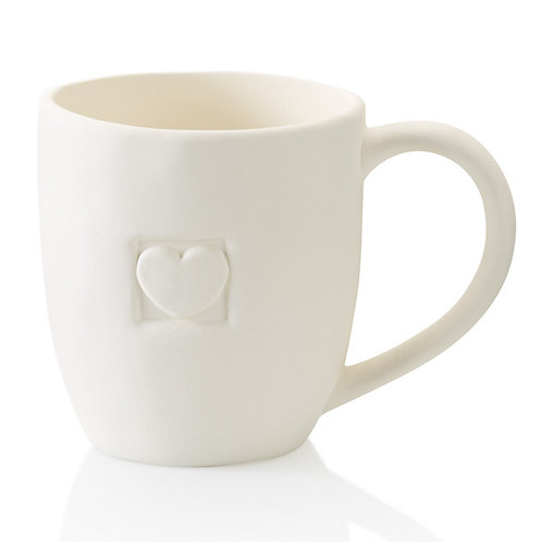 Heart Impression Mug