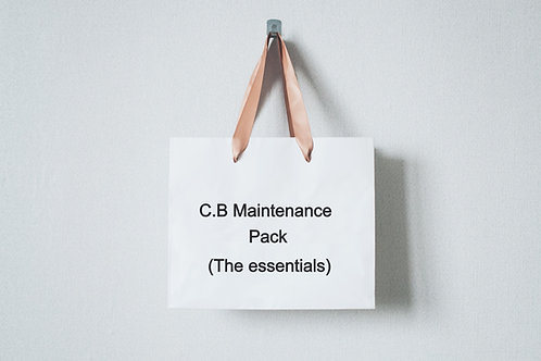 Ready stock C.B Maintenance Pack (The essentials)