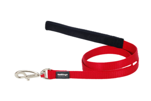 Red Dingo Fixed Plain Lead 1.2M (Red)