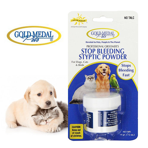 Gold Medal Stop Bleeding Styptic Powder For Pets