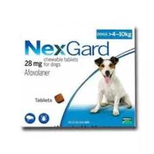 Nexguard Chewable Tabs 3s (>4-10kg)