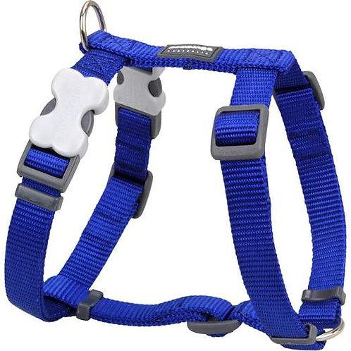 Red Dingo Classic Harness (20mm) -Dark Blue