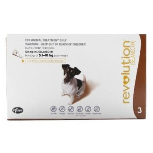 Revolution Small Breed (3s) 5.1kg - 10kg