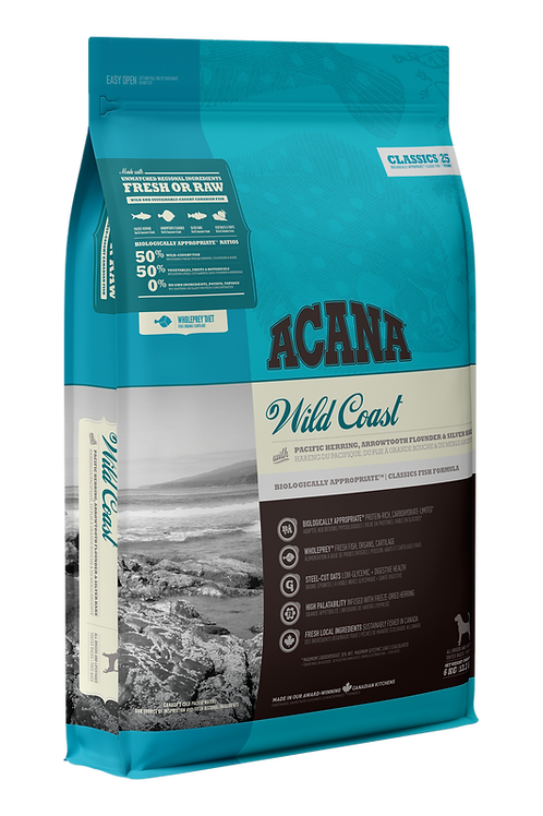 Acana Classics Wild Coast Dog Food(11.4kg)