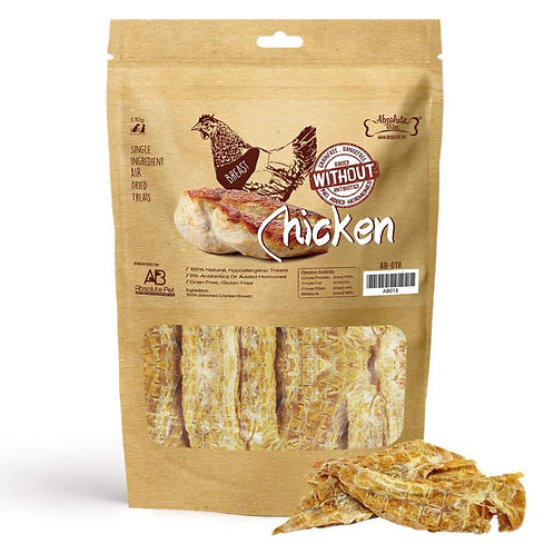 Absolute Bites Air Dried Chicken Breast (170g)