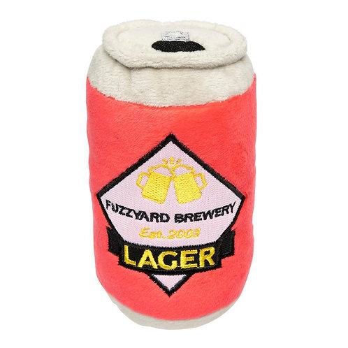 Fuzzyard Lager Beer Plush Dog Toy (15cm)