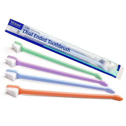 Virbac CET Dual Ended Toothbrush For Dogs & Cats