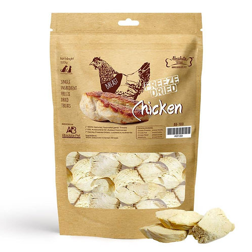 Absolute Bites Freeze Dried Chicken Breast (100g)
