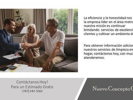 Nuevo Concepto Cleaning - Contacto