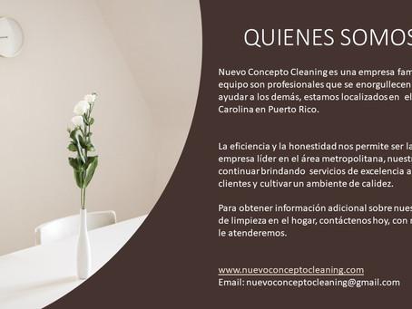 Nuevo Concepto Cleaning - Quienes Somos
