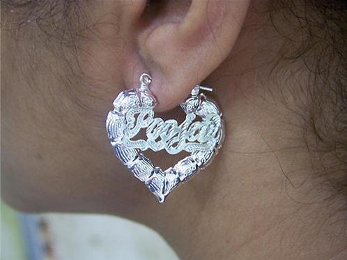 Silver Plated Heart 1INCH