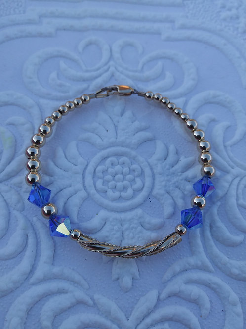 Baby Love Bracelet -Sapphire