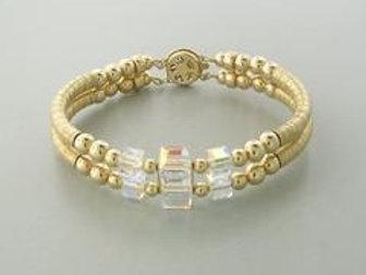 Swarovski Crystal Double Bracelet