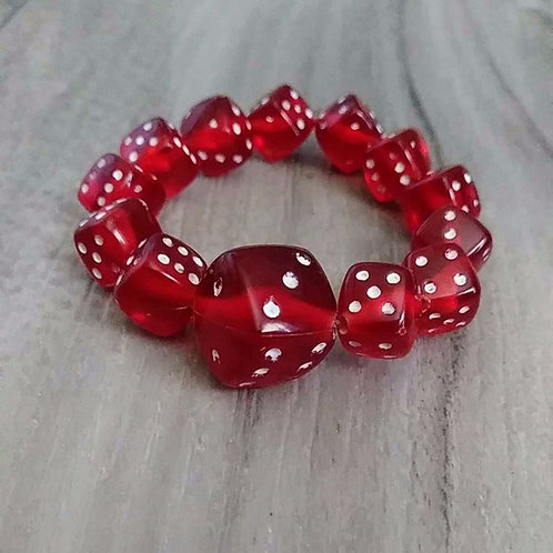 Dice Bracelet Single Color