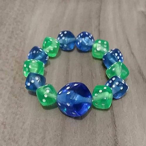 Dice Stretch Bracelets