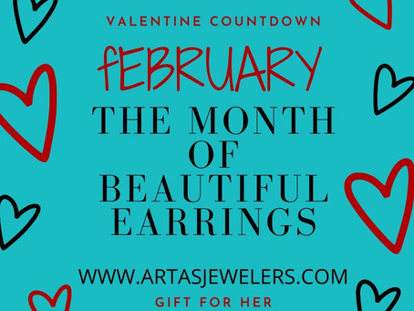 February-The month of beautiful earrings!