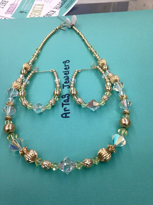 Miss JonQuil Necklace and Earring Set