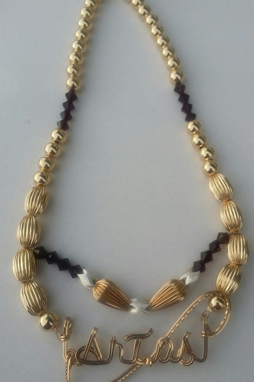 2 layer necklace