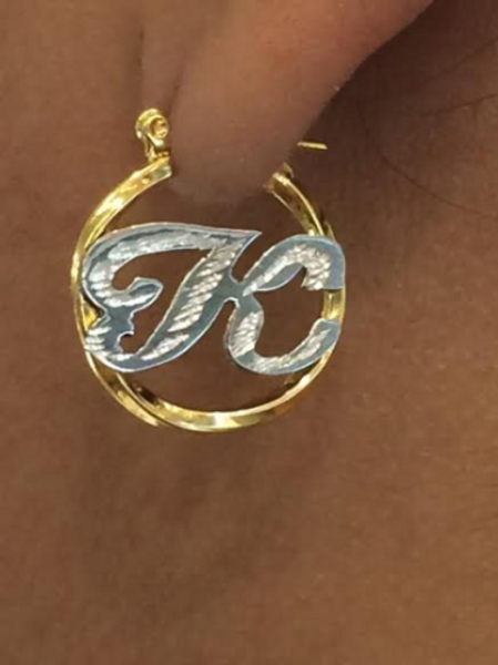 Baby Personalized 14k gold overlay